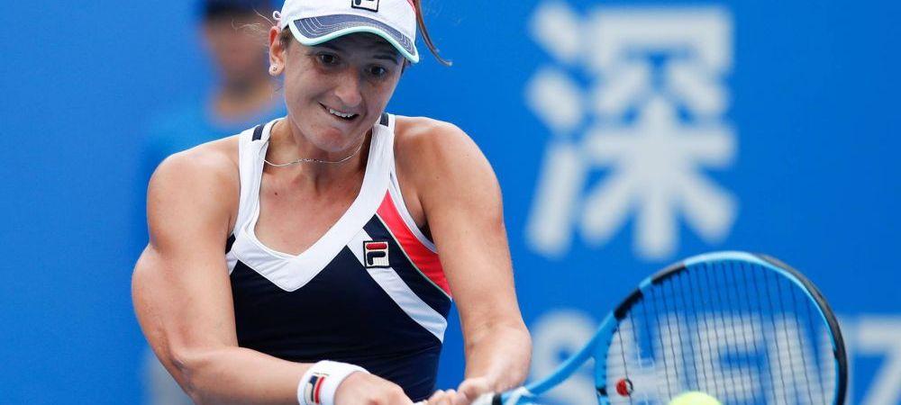 IRINA BEGU, eliminata in sferturile de la Seul! Jucatoarea din Romania a pierdut greu in fata Mariei Sakkari