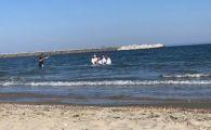 Moment rar pe litoral. Ce s-a intamplat sambata dimineata, in mare