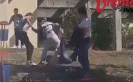 IMAGINI SCANDALOASE! O eleva a fost batuta pana la lesin de o colega de clasa. Motivul conflictului