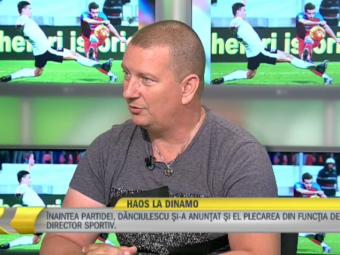 """EXCLUSIV   Ionut Chirila socheaza: """"Dinamo, condusa de vechea securitate, nu de Negoita"""". Ce spune despre situatia dezastruoasa de la club"""