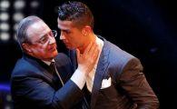 """Perez a vorbit pentru prima data: adevaratul motiv pentru care Ronaldo a plecat in vara! """"Am facut cea mai buna afacere posibila!"""""""