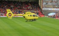 Clipe de groaza la un meci din Anglia! A lesinat si a fost nevoie de interventia medicilor