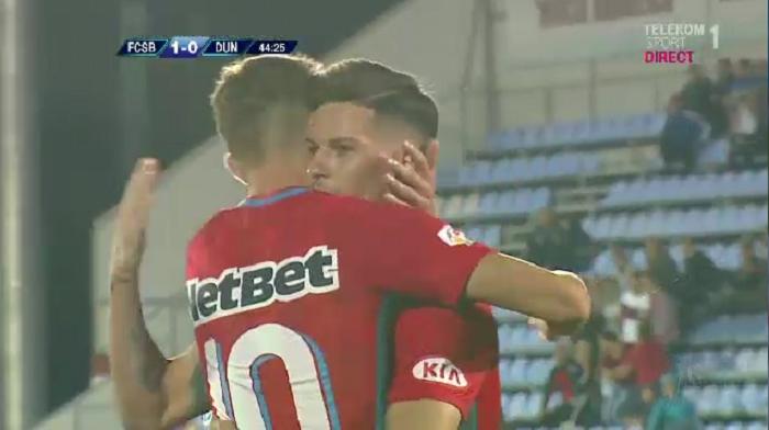 FCSB, din nou pe primul loc: 2-0 cu Dunarea Calarasi! Apararea Dunarii, comica la goluri