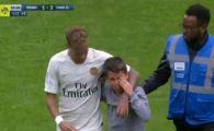 Faza zilei in Europa, la meciul PSG-ului! Un pusti a intrat pe teren si a inceput sa planga: Neymar i-a oferit tricoul | VIDEO