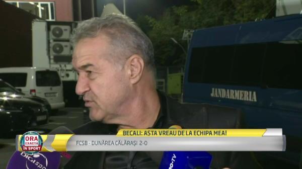 """""""Nu are voie sa se intample asa ceva!"""" Ce l-a nemultumit pe Becali dupa victoria 2-0 cu Dunarea"""