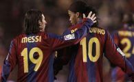 FABULOS! Cum arata cel mai tare 11 din istoria Barcelonei. Cine intra in atac, langa Messi si Ronaldinho