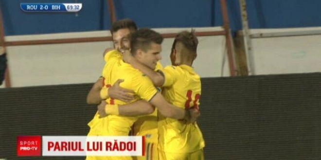 In trei ani vor pune Romania pe harta Champions League . Radoi pariaza pe pustii de la U21! Ce spune despre Ianis Hagi, dupa ce l-a pregatit la nationala