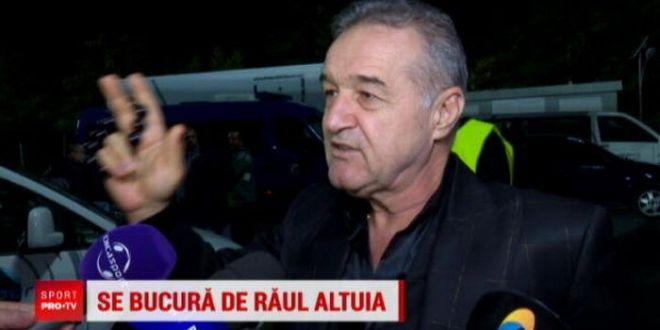 Becali se teme de Dinamo:  Nu vreau sa o vad in playoff, eu vreau sa castig campionatul!