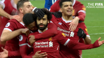 TROFEUL PUSKAS | Mohamed Salah a castigat trofeul pentru cel mai frumos gol din 2018! Vezi reusita: VIDEO