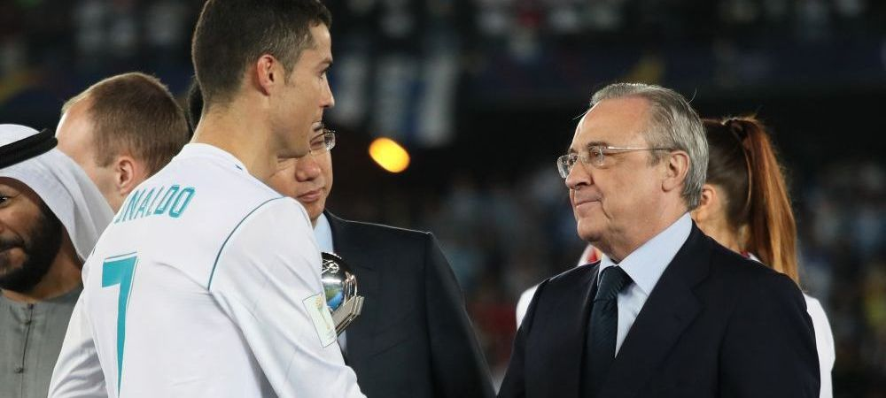 """Cristiano Ronaldo se va intoarce la Real Madrid!"" Declaratia BOMBA a lui Florentino Perez"