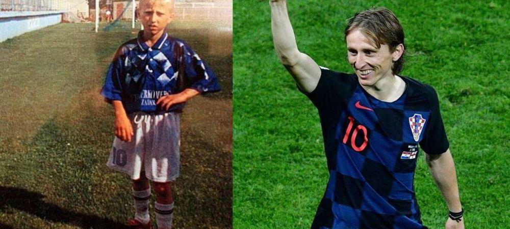 Drumul INFERNAL al lui Modric: Bunicul impuscat in razboi, casa ARSA, respins la fotbal! Acum e cel mai bun din LUME!