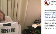 Cristiano Ronaldo, cadou pentru Reghe junior! Ce surpriza a primit cel mic de la vedeta lui Juventus