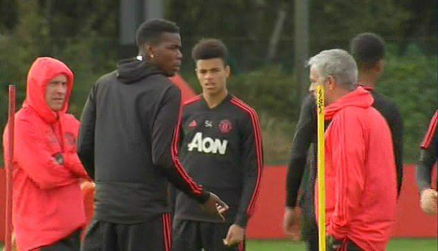 RUPTURA TOTALA intra Mourinho si Pogba! Scena incredibila intre cei doi la antrenamentul de azi! VIDEO