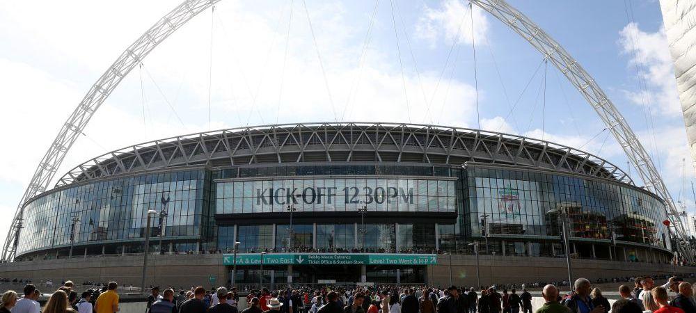 Un patron din Premier League cumpara stadionul Wembley cu 600 de milioane de lire! Cine pune mana pe una dintre cele mai faimoase arene din lume