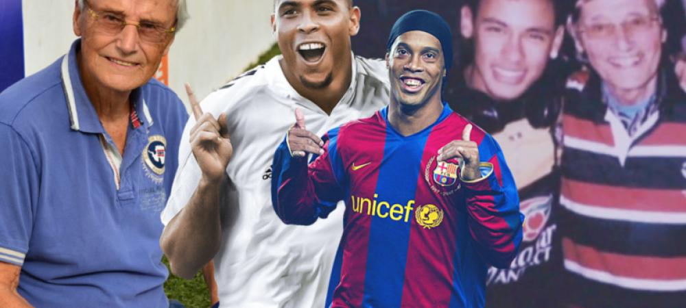 """Povestea scouterului care i-a descoperit pe Ronaldo, Neymar, Ronaldinho si De Bruyne: """"Un singur jucator se apropie de nota 10!"""""""
