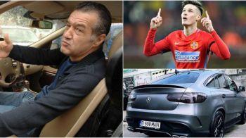 "Reactia total neasteptata a lui Becali, cand a aflat ca pustiul Man si-a luat ""tanc"" de 100.000 de euro! Patronul FCSB are un nou favorit"