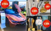 Opulenta maxima la magazinul de suveniruri de la cel mai tare turneu de golf al lumii! Ce poti sa iti cumperi daca ai marunt 50.000 € :)