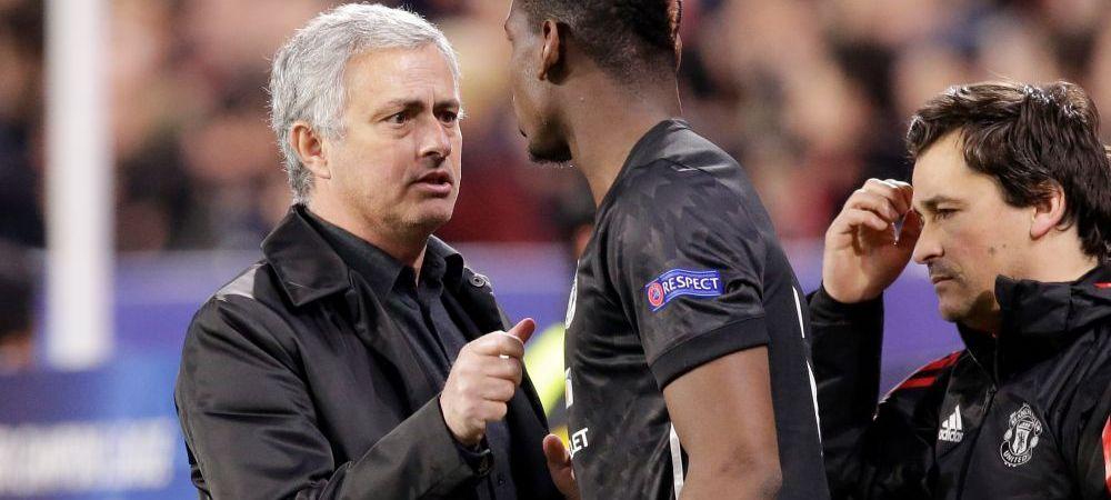 """Mourinho nu mai poate! Mesajul TRANSANT transmis lui Pogba: """"Nu se va intampla cat timp sunt eu aici!"""""""