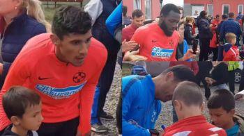 "Ca in vremurile bune! SURPRIZA de care a avut parte FCSB la antrenament: ""A fost o baie de multime"" | VIDEO"