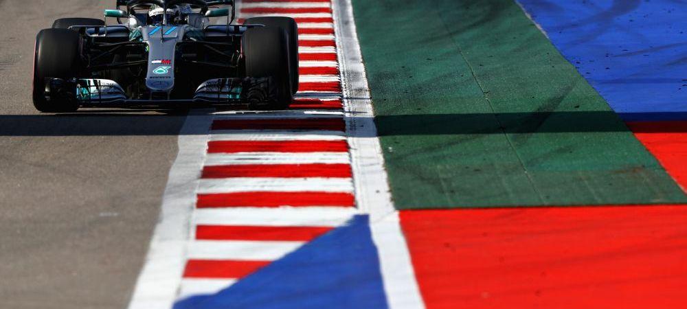 Hamilton, depasit de coechipier! Bottas pleaca din pole-position in Marele Premiu al Rusiei, Vettel de pe 3