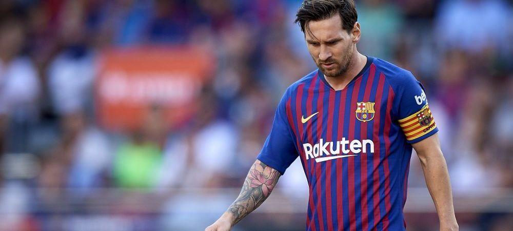 Coincidenta incredibila la Barcelona! Blestemul lui Messi a lovit din nou: e cel mai ghinionist din Europa