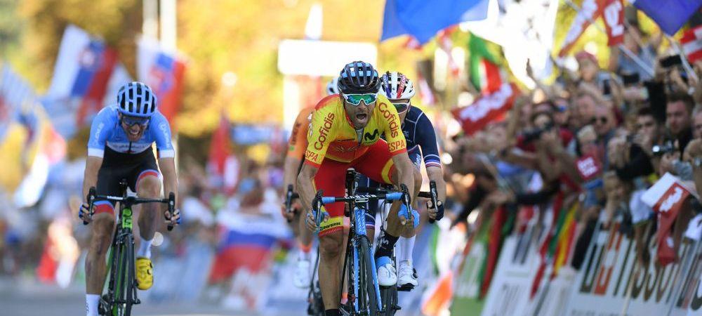 In sfarsit, Alejandro! Dupa sase podiumuri, Valverde a castigat prima data titlul mondial la ciclism