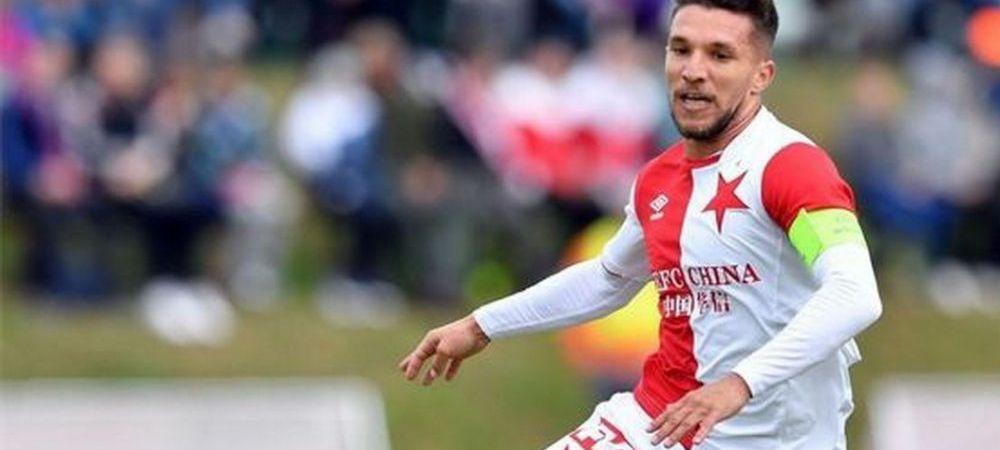 Baluta, pasa decisiva in meciul cu Banik Ostrava! Slavia Praga a pierdut derby-ul, dar ramane pe primul loc
