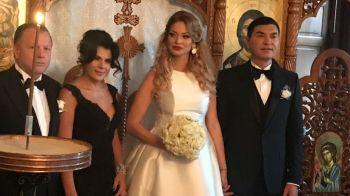 Borcea si Valentina Pelinel s-au casatorit la Budapesta. Primele imagini de la eveniment. FOTO
