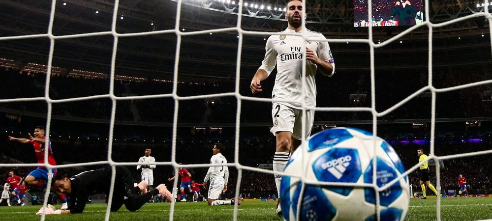 UEFA CHAMPIONS LEAGUE | TSKA 1-0 Real, SCANDAL cu Hategan la centru! United 0-0 Valencia; Bayern 1-1 Ajax; Nebunie la Lyon - Sahtior si AEK - Benfica | Hoffenheim 1-2 Man City