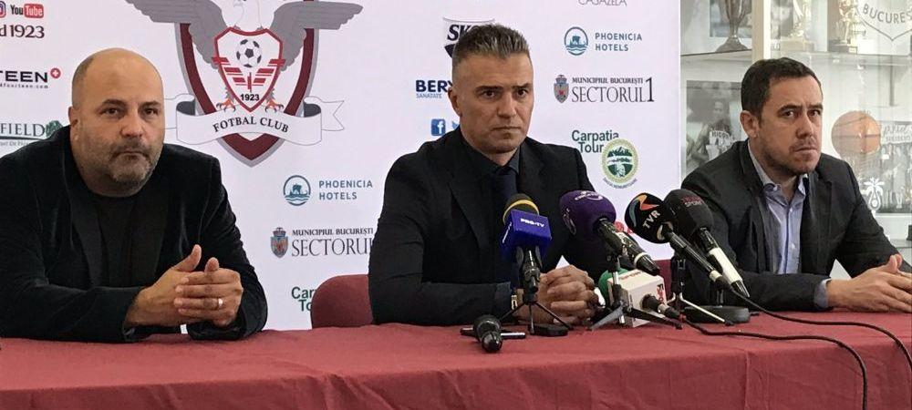 """""""Vom varsa sange daca va fi nevoie!"""" Pancu si-a stabilit singur obiectivul la Rapid: """"Vreau ca in 2 ani sa jucam in Liga 1!"""""""