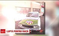 O masina Dacia poate salva viata unui copil! Pustiul e suporter Atletico Madrid