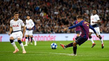 TOTTENHAM - BARCELONA 2-4 LIVE | Dubla lui Messi aduce victoria pe Wembley! Kane si Coutinho au marcat si ei, Barca are maxim de puncte