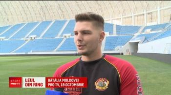Oltenii au un leu fioros si in ring! Batalia Moldovei va fi pe 19 octombrie la Pro TV
