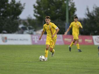 Romania U17, pe urmele nationalei lui Radoi, Ivan si Ianis Hagi! Stelistul Ianis Stoica a marcat si tineretul U17 se bate pentru Turul de Elita