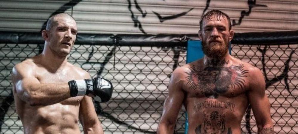 "McGregor, impresionat de romanul cu care s-a antrenat. ""Este un bombardier de 90kg!"" Ce a patit la antrenament"