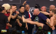 "McGregor - Khabib Nurmagomedov | McGregor a sarit la bataie la cantar: ""Hai, ma, sa ne batem! Te fac pilaf!"" Cum a reactionat rusul Khabib. VIDEO"