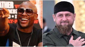 Mayweather s-a dus in Rusia pentru a se intalni cu unul dintre cei mai controversati lideri din lume! Ce l-a pus Kadyrov sa faca