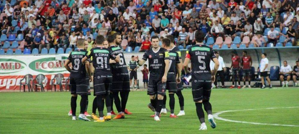 Craiova 1-1 Hermannstadt   Craiova obtine cu greu un punct dupa tranformarea unui penalty inexistent