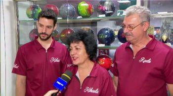 Bowling-ul, ca o religie! O familie din Romania vrea sa dea lovitura la Europeanul din Bucuresti! Competitia e duminica, la ProX