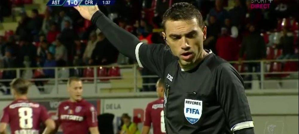 "Astra - CFR Cluj | Hategan i-a dat peste cap! ""M-am bucurat, m-am oprit! Nu am inteles nimic!"" Cum s-a vazut din teren faza golului anulat"