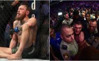 GALERIE FOTO | Imagini uluitoare: McGregor, terminat in cusca! Politistii au intrat intervenit in jurul lui Khabib