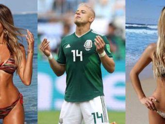 Iubita lui Chicharito are origini in Romania, e model si studiaza dreptul la Harvard! Cum arata femeia care l-a cucerit pe mexican. FOTO