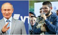 Veste uriasa pentru Khabib Nurmagomedov dupa ce a devenit campion in UFC! Anuntul facut de Vladimir Putin