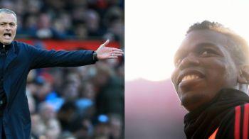 """Mourinho ajuta Barcelona! Cum il poate trimite """"The Special One"""" pe Pogba pe Camp Nou"""
