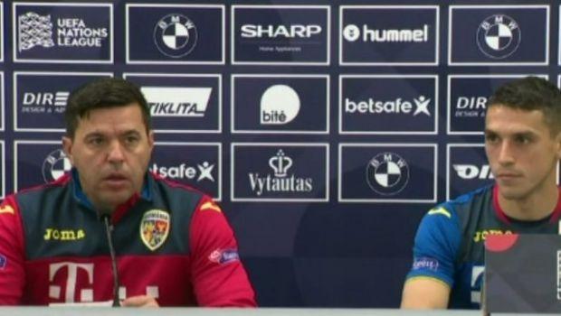 """LITUANIA - ROMANIA, LIVE, LA PRO TV   """"Cred ca mesajul transmis baietilor a fost foarte clar!"""" Intrebarea care l-a enervat pe Contra si raspunsul transant: """"NU!"""""""