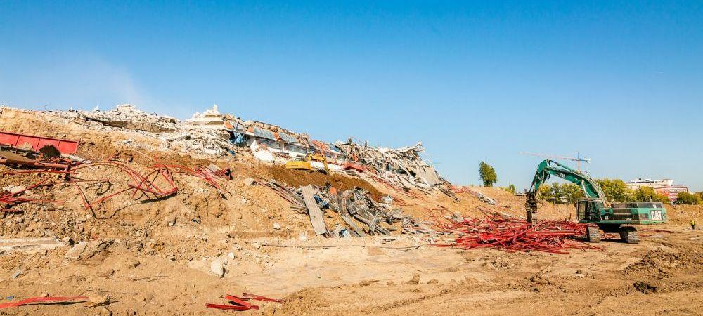 FOTO: Ghencea e istorie! Legendarul stadion al Stelei a fost distrus definitiv! Cum va arata noua arena
