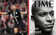 """Mbappe, pe coperta revistei TIME la 19 ani: """"El e viitorul fotbalului!"""" Mesajul atacantului francez"""