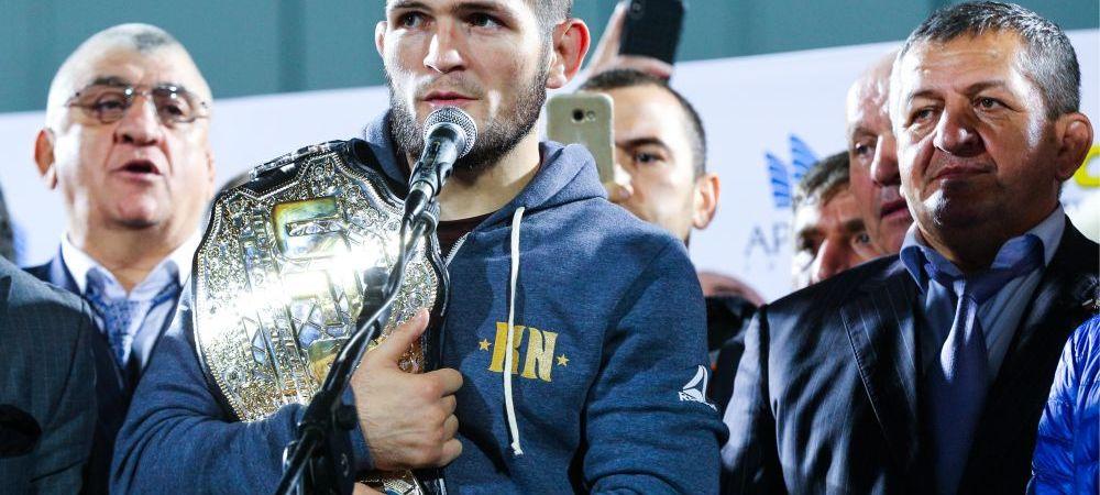 """Khabib, in RAZBOI cu UFC-ul dupa scandalul de la meciul cu McGregor! Mesajul dur al rusului: """"Voi pleca din companie daca faceti asta!"""""""