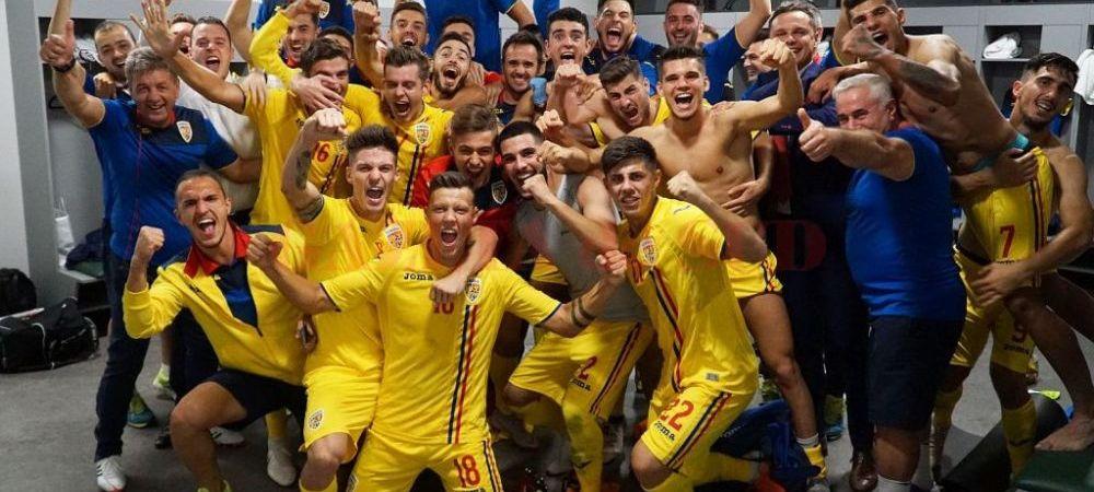 ROMANIA - TARA GALILOR, LIVE, ORA 19:00   Record pentru nationala de tineret! Calificarea la EURO se decide in fata unui stadion arhiplin