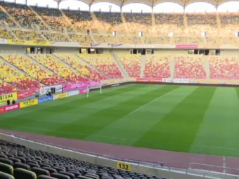 50 de zile pentru un gazon ca pe Wembley! Cum arata National Arena inainte de Romania - Serbia
